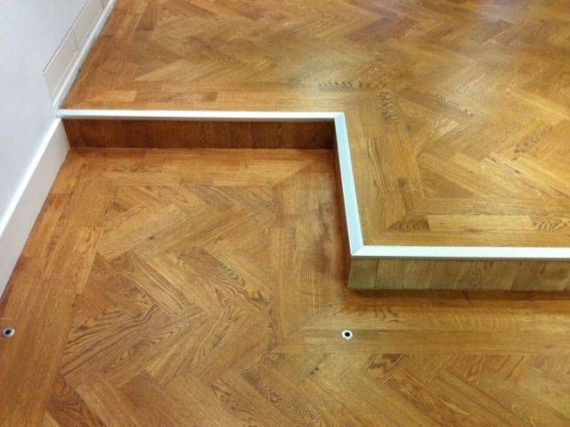 10 mm Unfinished Solid Oak Parquet Blocks