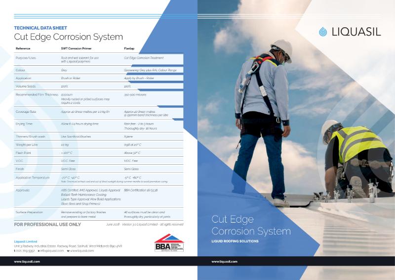 Cut Edge Corrosion Treatment - FlexLap by Liquasil Ltd