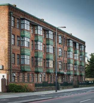 Clement EB16 steel windows specified for Lambeth Borough Conservation Area