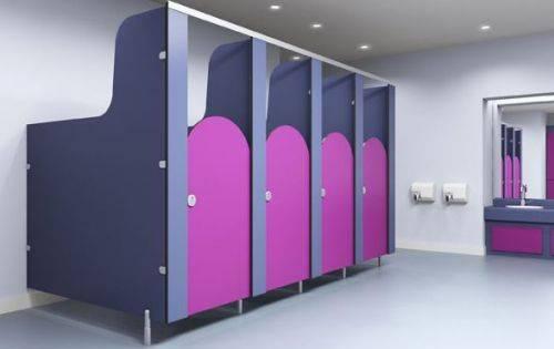 Juno Washroom Cubicles