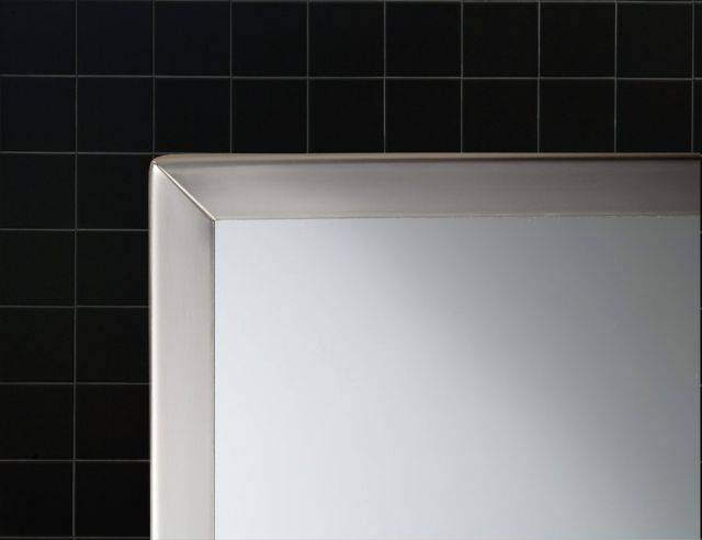 Framed mirror with shelf B-166 Series