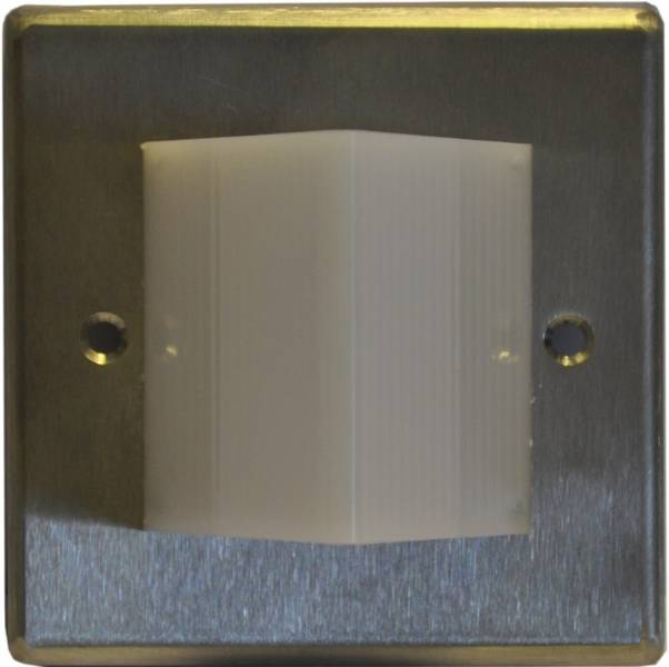 Care 2 Stainless Steel Over Door Light