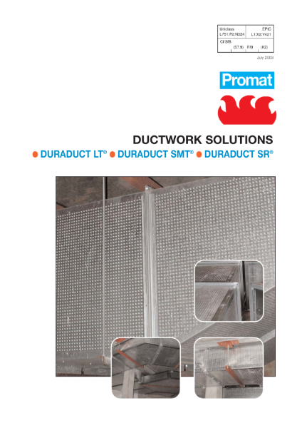 Promat DUCTWORK SOLUTIONS