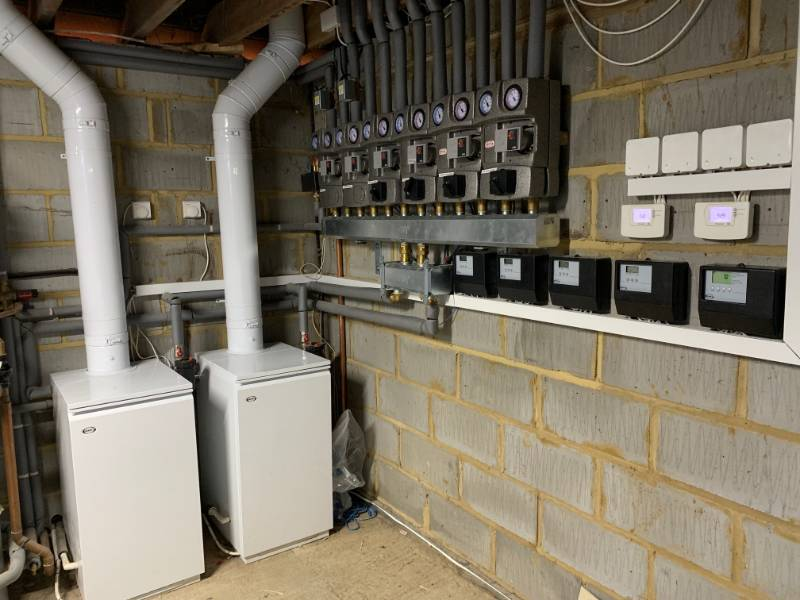 Two Vortex Pro Utility boilers are keeping a converted farmhouse in Buckinghamshire warm and cosy
