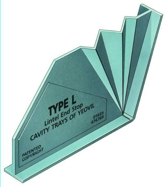 Type L Lintel Stop End