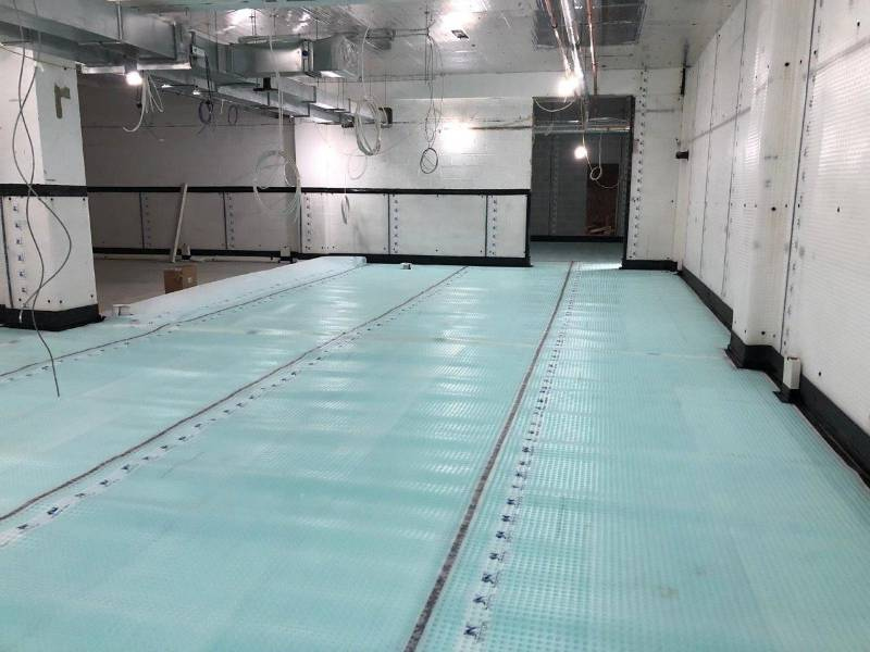 Creating a Dry Basement for Paramedic Training, Surrey