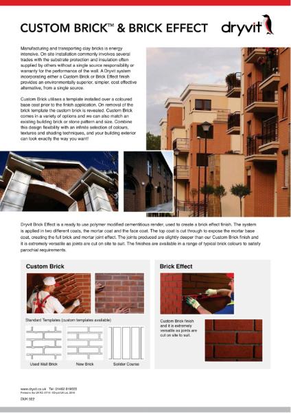 08. Custom Brick & Brick Effect