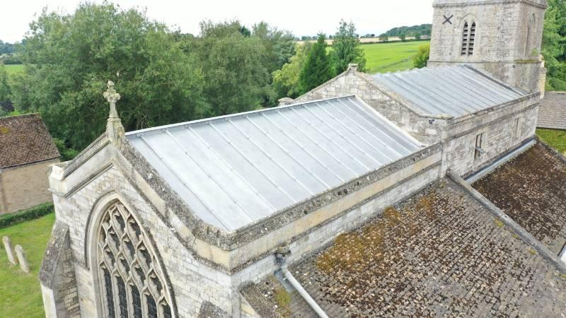 Roofinox Tin Matt – Lead Theft from Historic Buildings