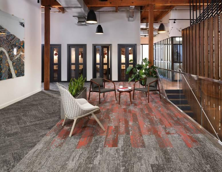 Living Systems Carpet Tile Collection: Respond Colour
