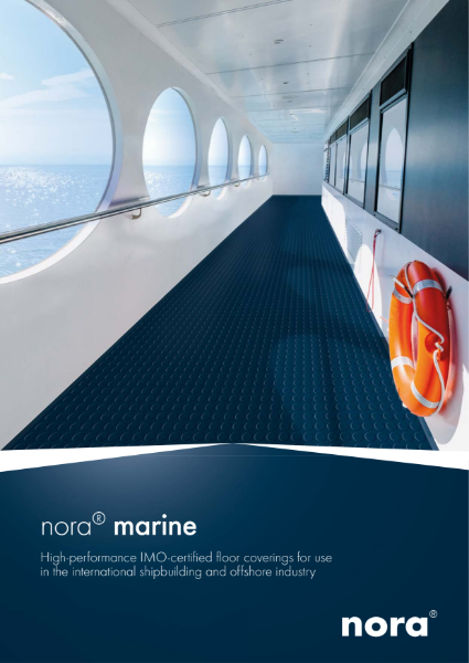 nora marine - high performance IMO certified floor coverings