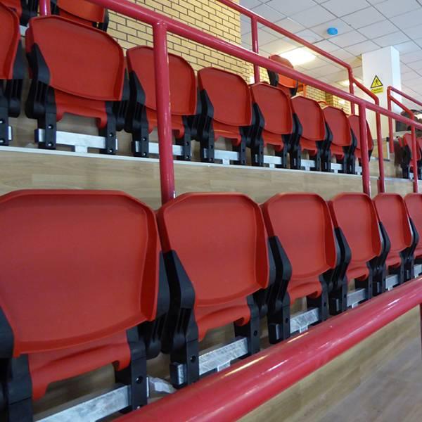 Macclesfield Leisure Centre Spectator Seating