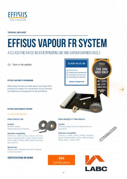 Effisus Vapour FR_Hot Climates