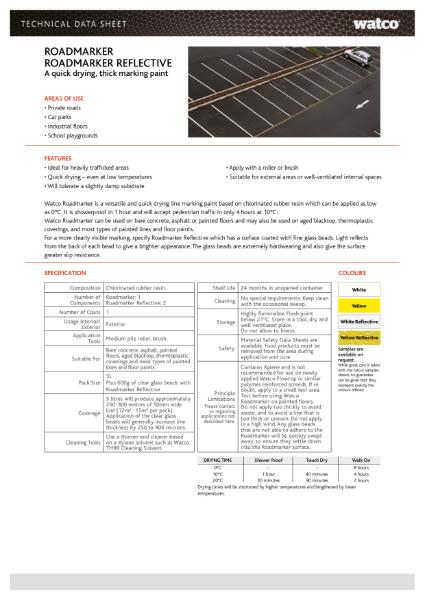 Data Sheet: Roadmarker