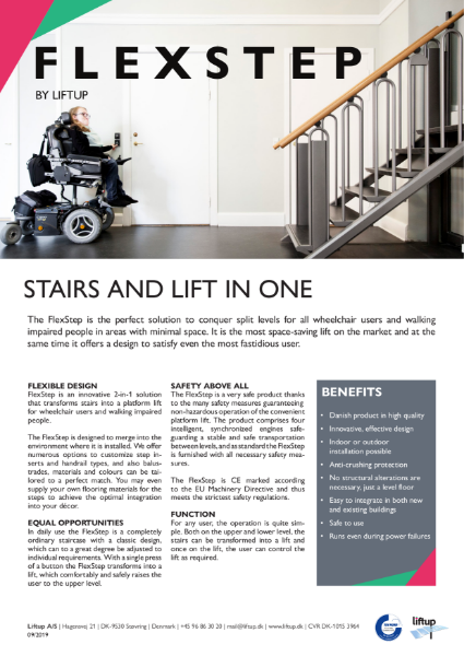 FlexStep by Liftup brochure