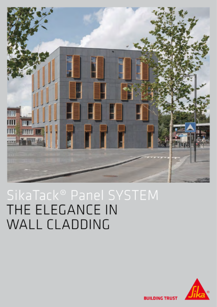 SikaTack Panel System