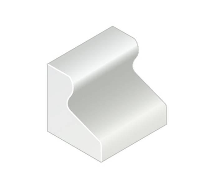 Trief® GST2A Half Kerb455 mm