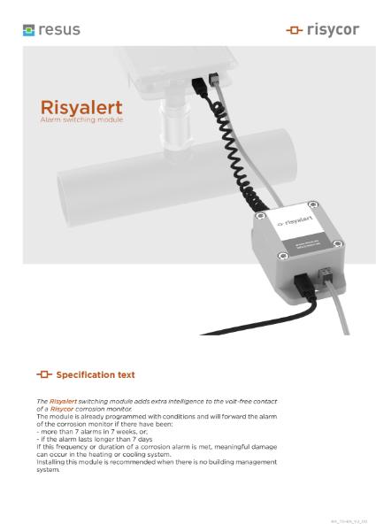 Risyalert Technical Datasheet EN V2 00