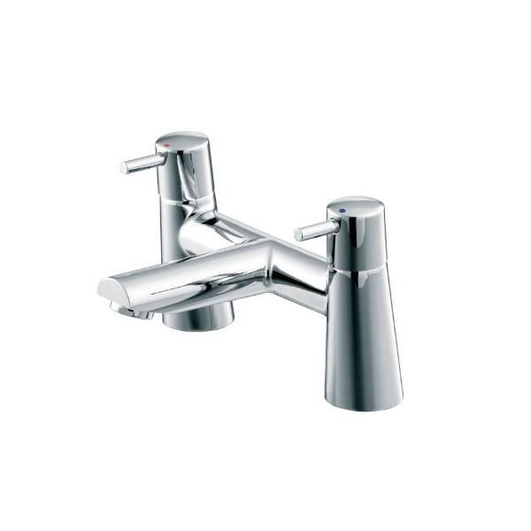 Cone Dual Control Two Hole Bath Filler