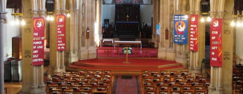 St Mark Church Dais Staging