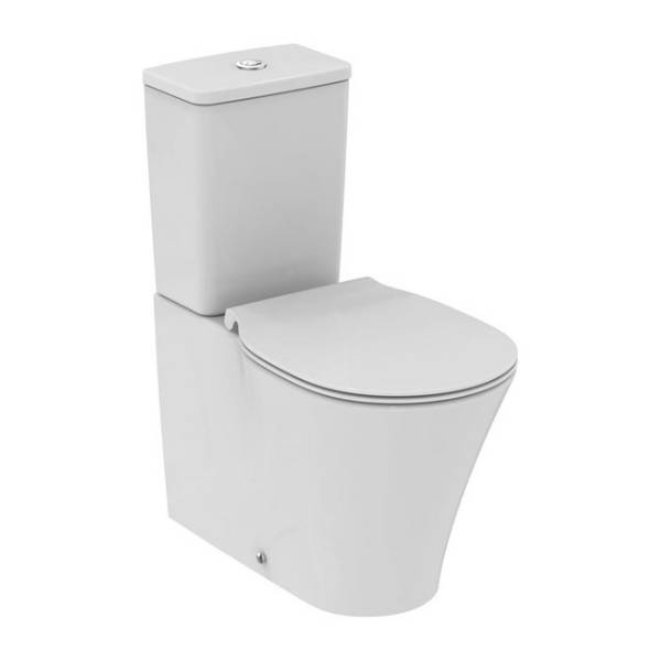 Concept Air Close Coupled Back to Wall WC Suite with IsoValve Access Hole
