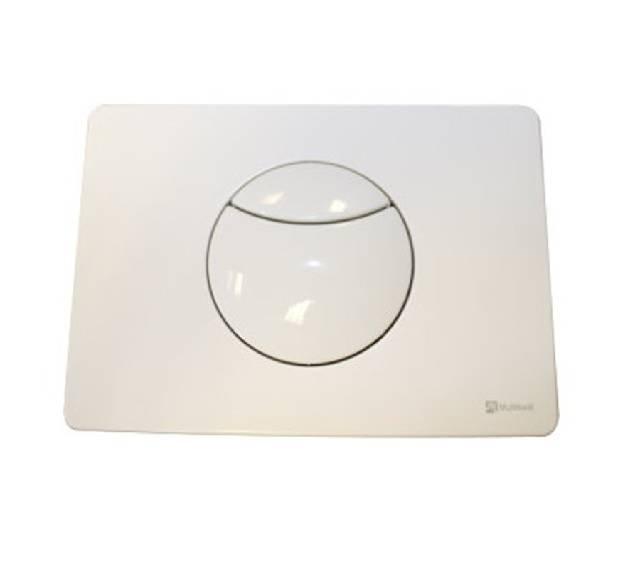 TRF0400C Multikwik Flush Plate - Crescent (White Finish)