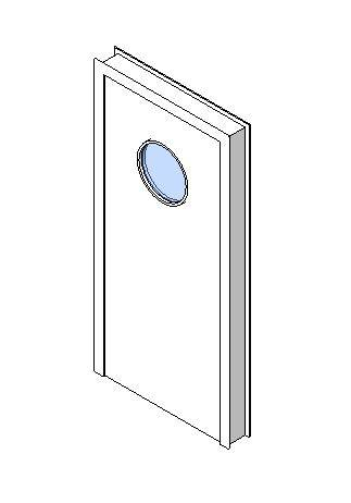 Internal Single Door, Vision Panel Style VP07