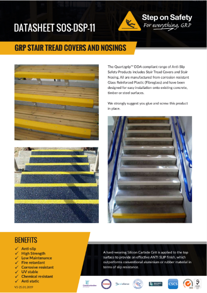 Stair Nosing, Stair Tread Covers and Stair Protection