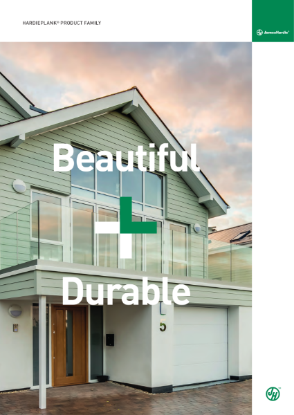Hardie® Plank Cladding Product Family Brochure