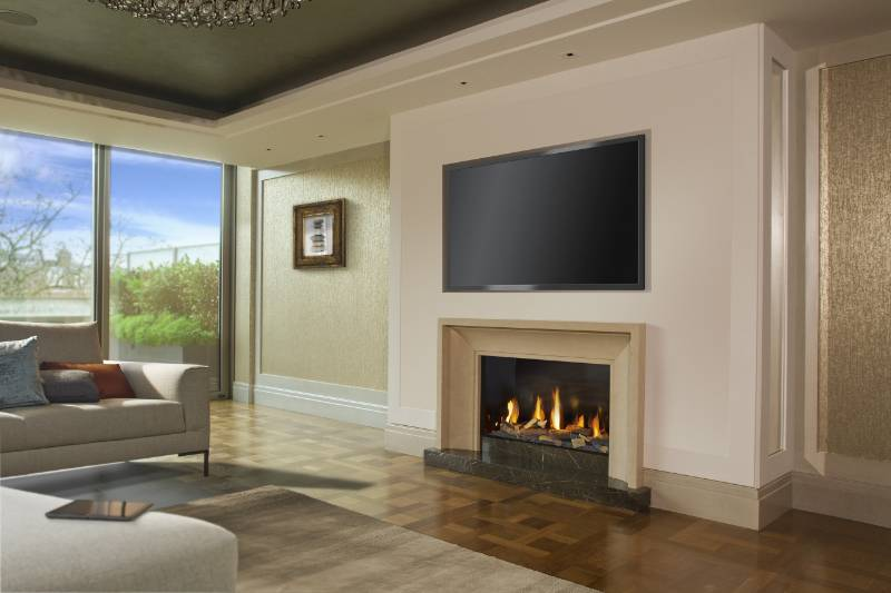 DRU gas fires have pride of place in prestigious Berkeley Homes Belgravia development
