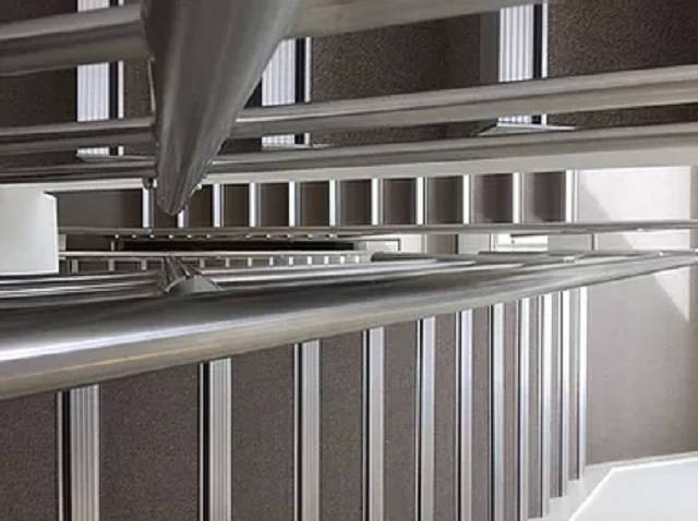 Aluminium Stair Nosings with Ribbed or Castellated Treads