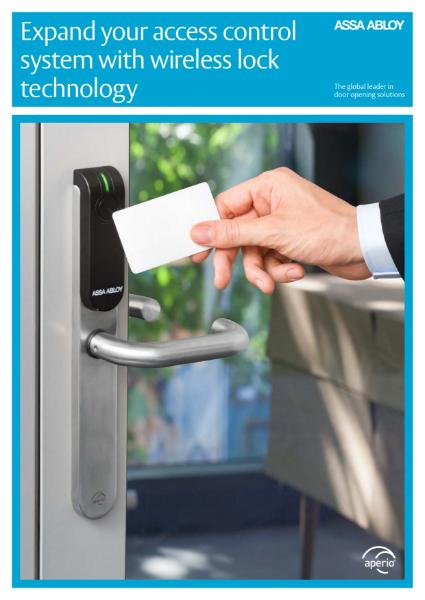 Access Control End User Brochure