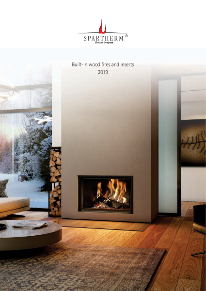 Spartherm Premium contemporary wood fire inserts product brochure
