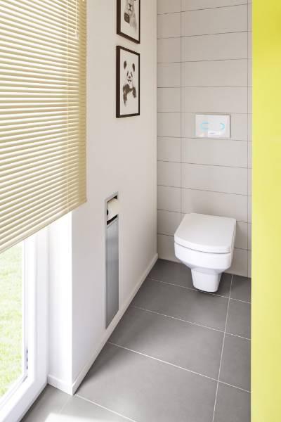 Brush Holder and Paperholder - Toilet roll holder
