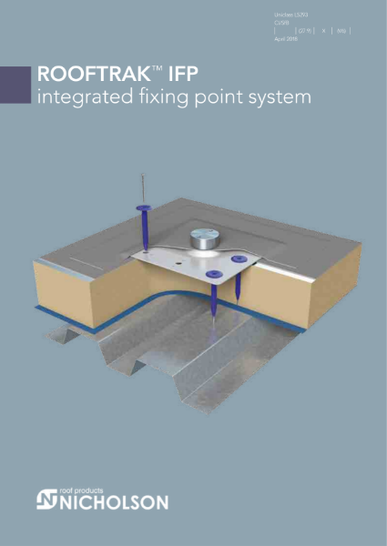 ROOFTRAK Integrated fixing point system