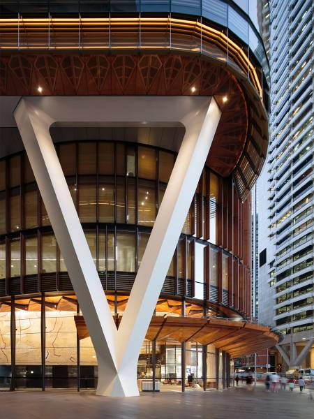 Tower of Wood: The EY Centre, FJMT Architect