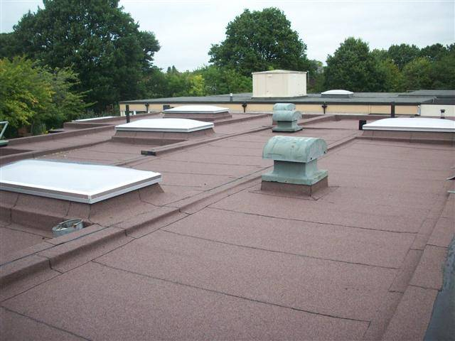 School Roof Receives Much Needed Fire Protection and Waterproofing