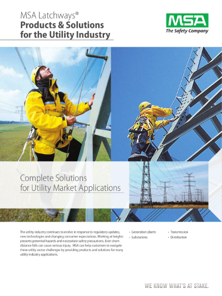 Fall protection systems for industrial applications