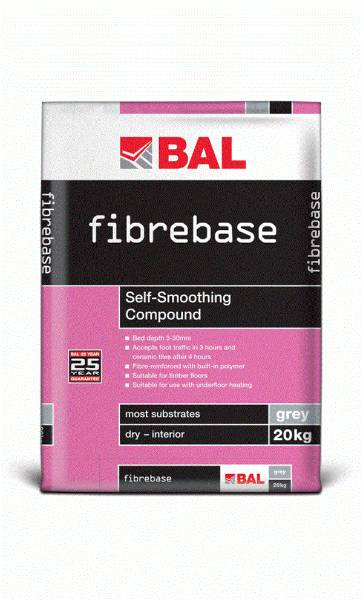 Fibrebase - Self-smoothing compound