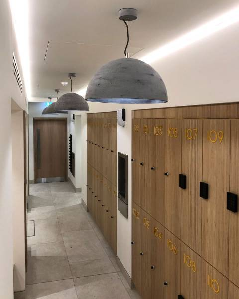 Concrete Lamp Shades