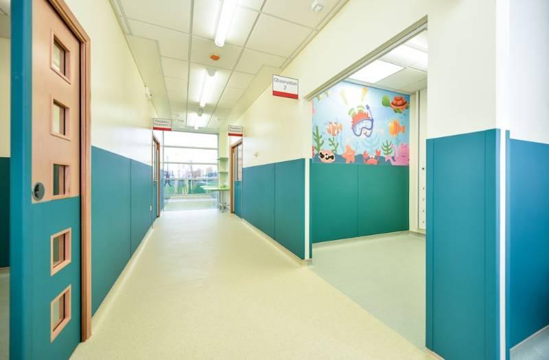 Polyflor helps freshen up Halton Hospital's new urgent care centre