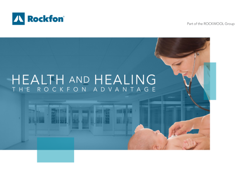 Rockfon Acoustic Ceilings for Healthcare Buildings