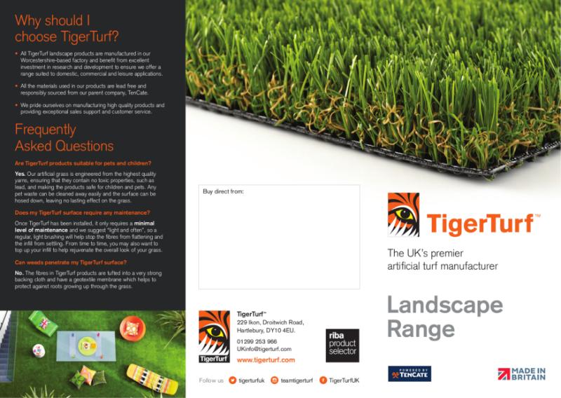TigerTurf Landscape Range