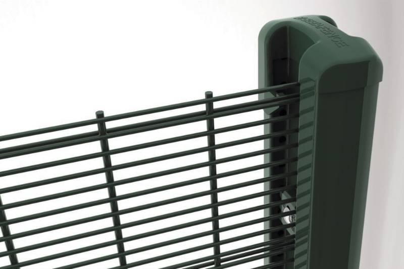 Securifor 2D + Bekafix Ultra - Metal mesh fence panel