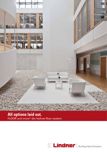 FLOOR and more® dry hollow floor system