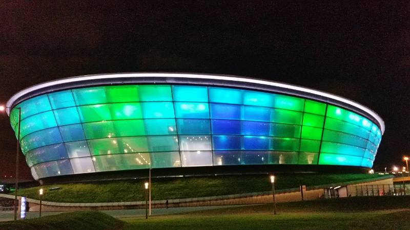The SSE Hydro, Glasgow. Fire Curtains and Smoke Curtains
