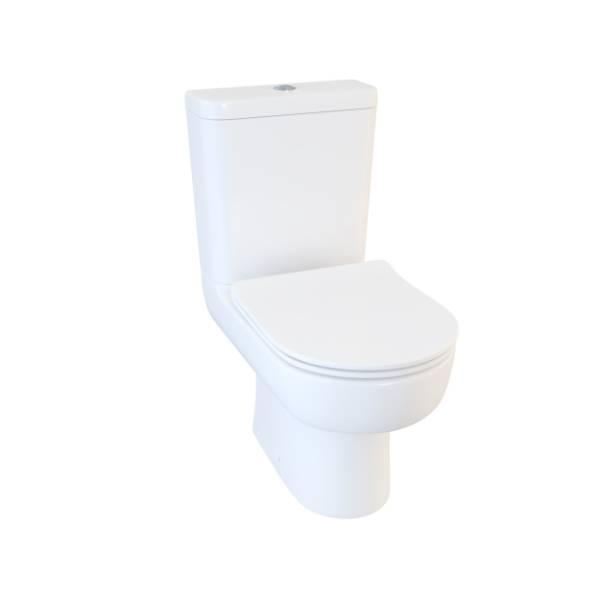 Designer Series 3 WC set and softclose skinny seat