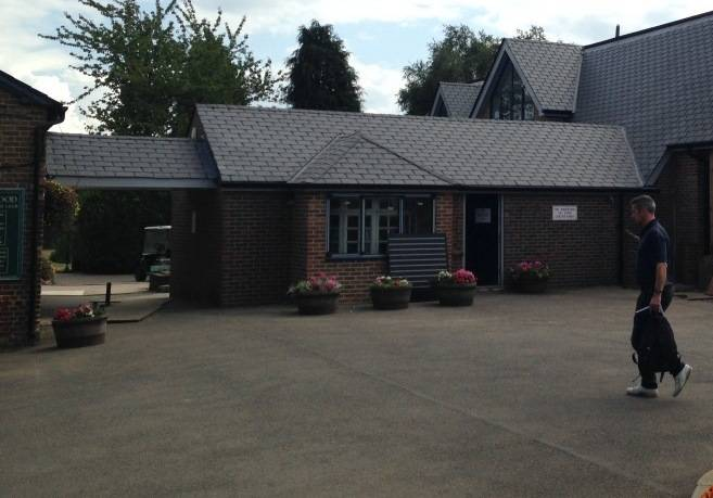 Shatter Resistant Tiles Complete New Roof for Residents at Golf Club Lodge