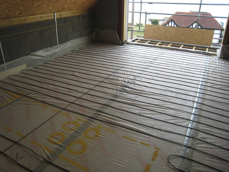 In-screed heating for a Passivhaus development