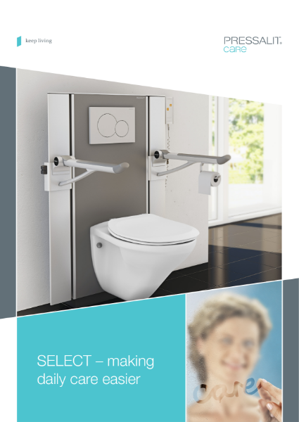 Pressalit Select wash basins and toilets