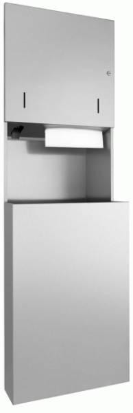 DP4311 Dolphin Prestige Combination Paper Towel, Soap Dispenser and Waste Bin